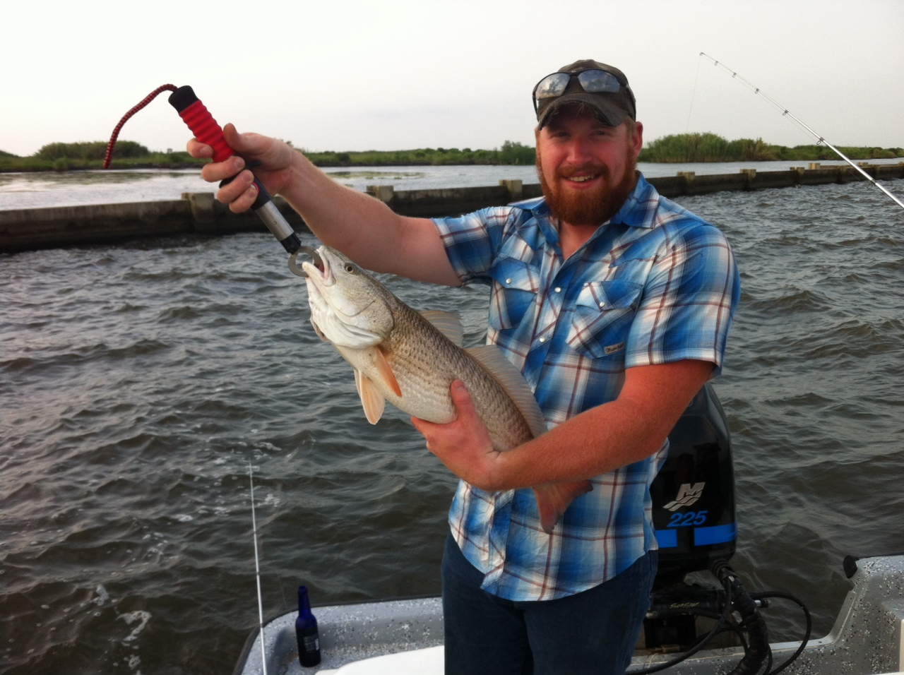 5 29 2012 red fish red fish red fish in new orleans for Fishing new orleans
