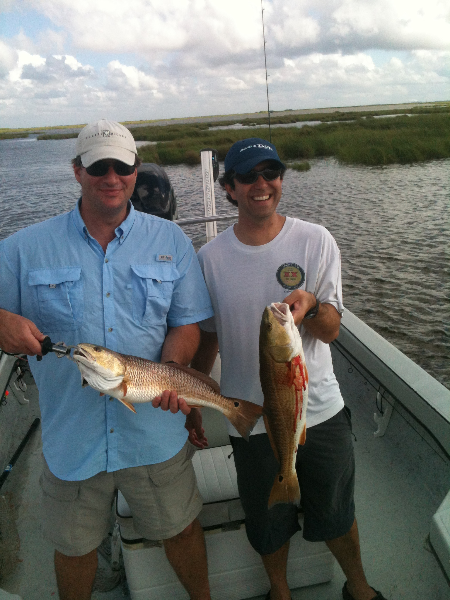 6 25 2012windy but great week of fishing in new orleans for Fishing camps for rent in louisiana
