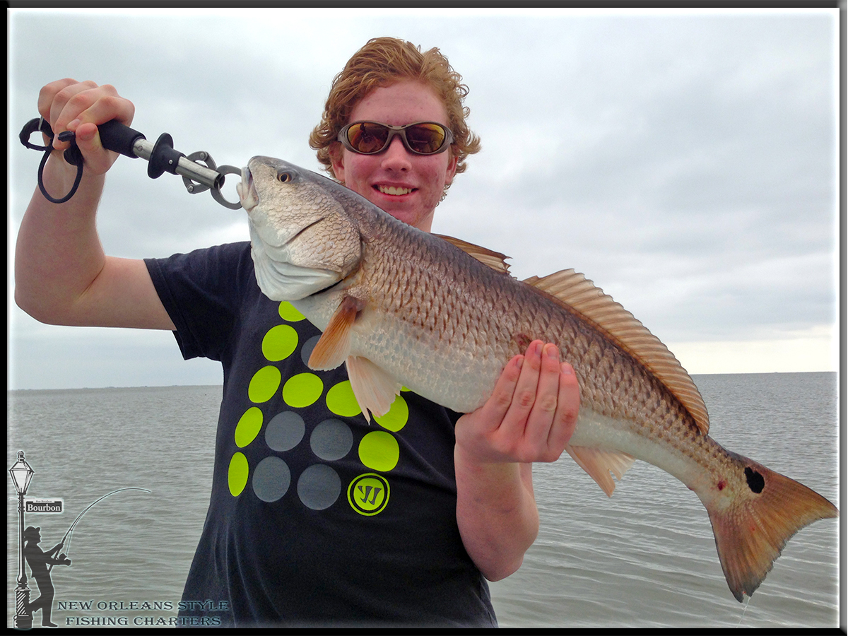 New orleans fishing report 3 13 14 fishing red fish new for La fishing charters