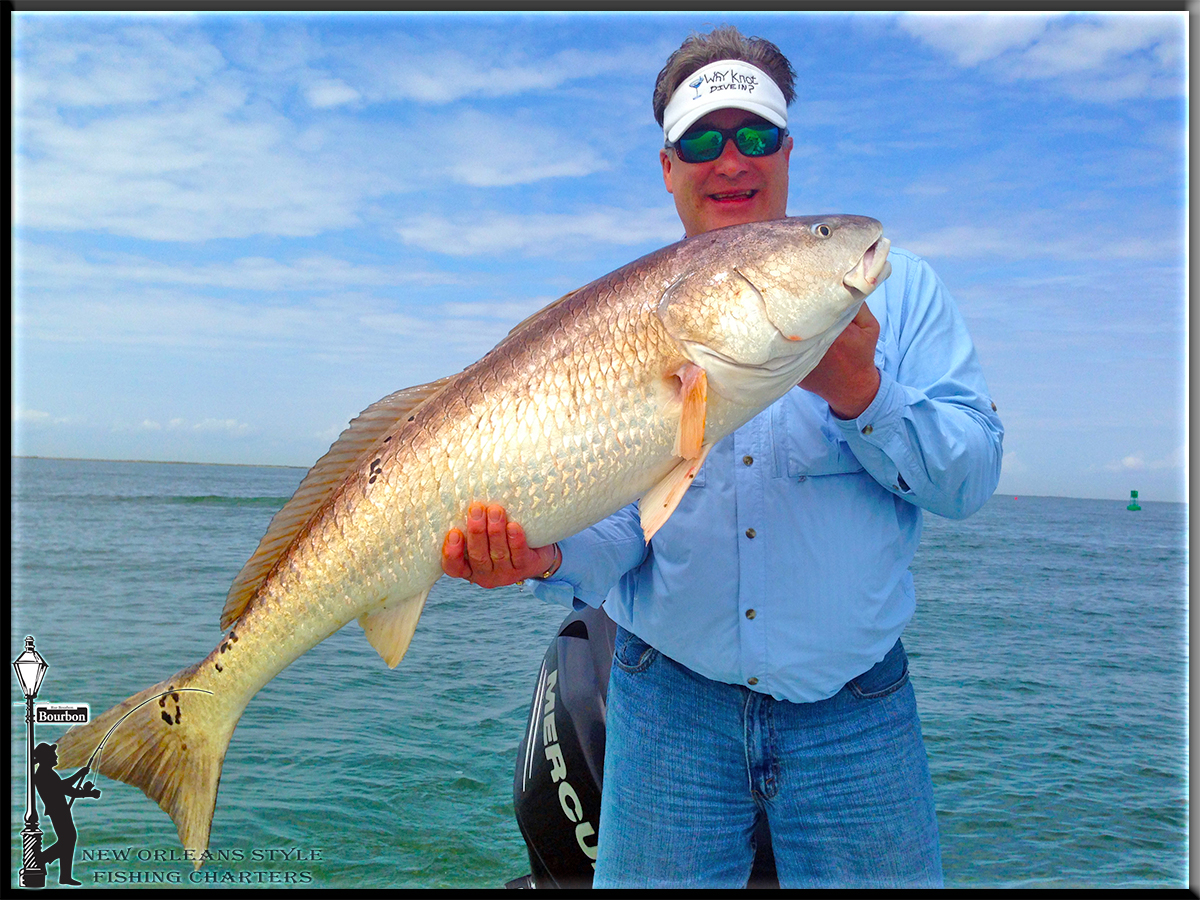 new orleans fishing report3 17 14 fishing for bull reds in